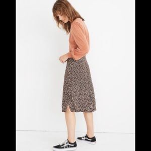 Madewell Skirt in petite bloom